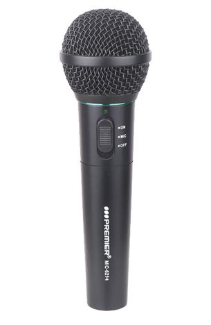Microfone SEM FIO 100MHZ - 118MHZ  MPEDÂNCIA: 600 OHM   Cor Preto