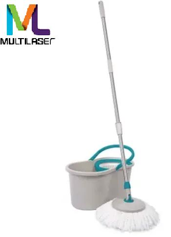 Mop Giratório Para Uso Em Diversos Pisos Com 1 Refil  12 Litros - 6920