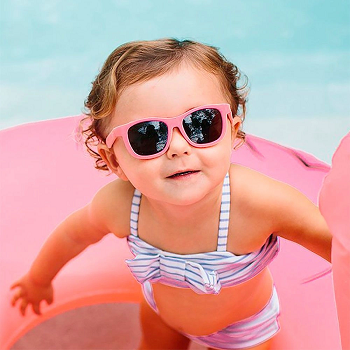 Óculos De Sol Do Bebê  Rosa Buba   recomendada (0-36m+)  - 6811