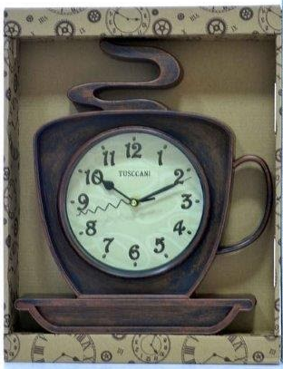Relógio De Parede Xícara De Café-5800