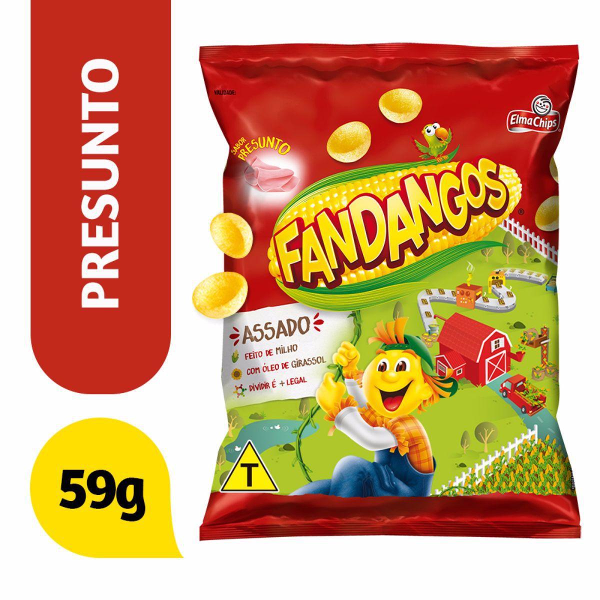 Salgadinho Fandangos Presunto 59g - Elma Chips