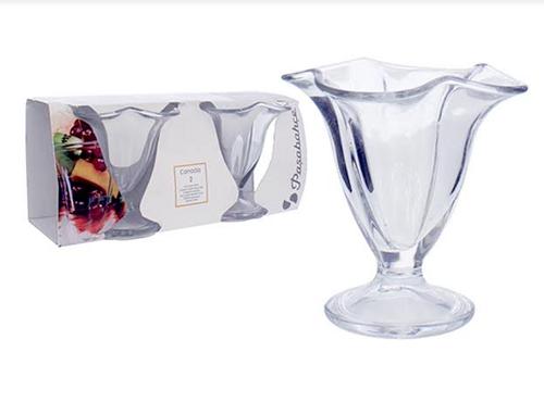 Taça de Vidro 2 peças-6077