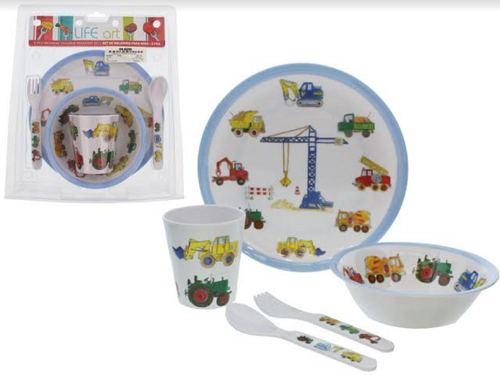 kit  Refeição Infantil 5 Peças-6122