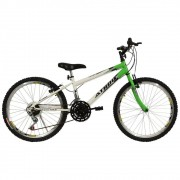"Bicicleta Aro 24"" 18m Mtb Legacy Verde Athor"