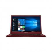 Notebook Positivo Motion Q464B Intel Atom Quad core 4GB 64GB SSD + 64GB Nuvem 14 W10 Vermelho