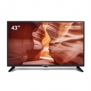 TV Multilaser 43? LCD Full HD TLO18 Preto