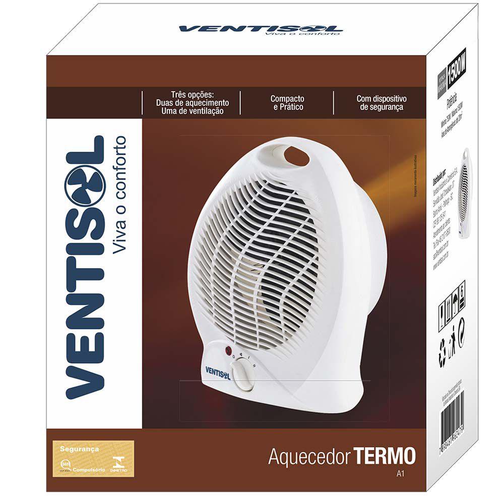 Aquecedor Eletrico Ventisol Mod A1-01 Premium