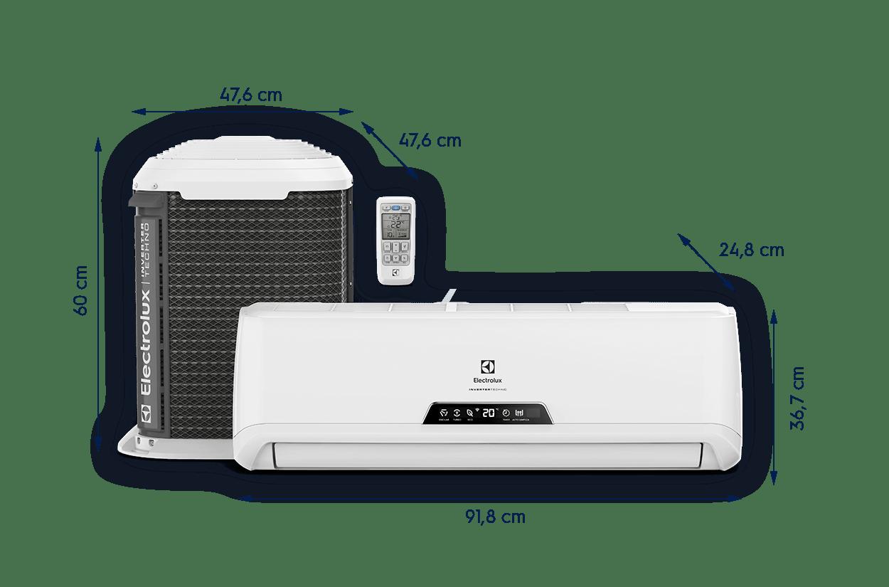 Ar Condicionado Split Inverter Electrolux 9000 Btus - 220V