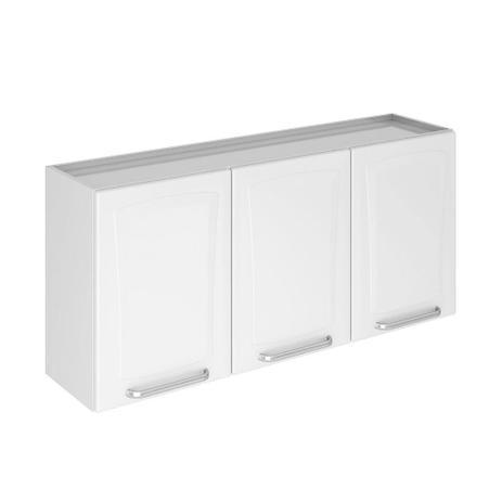 Armário De Aço Para Cozinha 3 Portas Tarsila Branco Itatiaia Móveis
