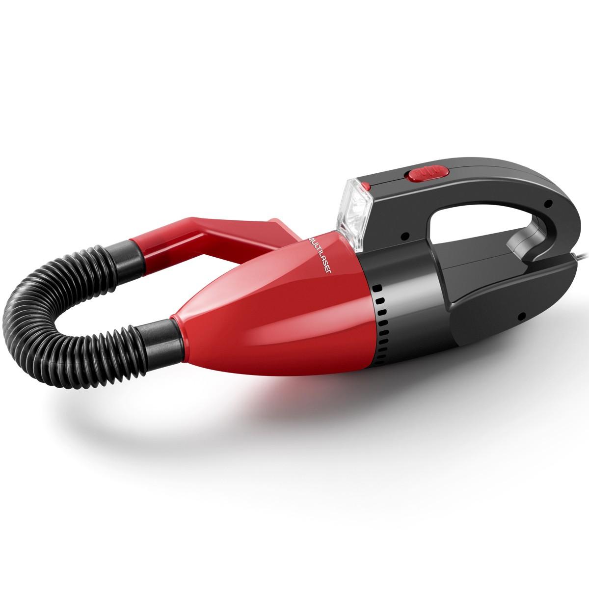 Aspirador Pó Automotivo 1500pa, 12v, 60w, Sólido E Liquido - Multilaser