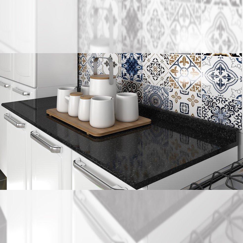 Balcão Cozinha Itatiaia Luce 2 Portas 3 Gavetas Branco IG3G2-105