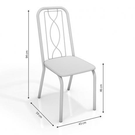 Cadeira Viena Cromada