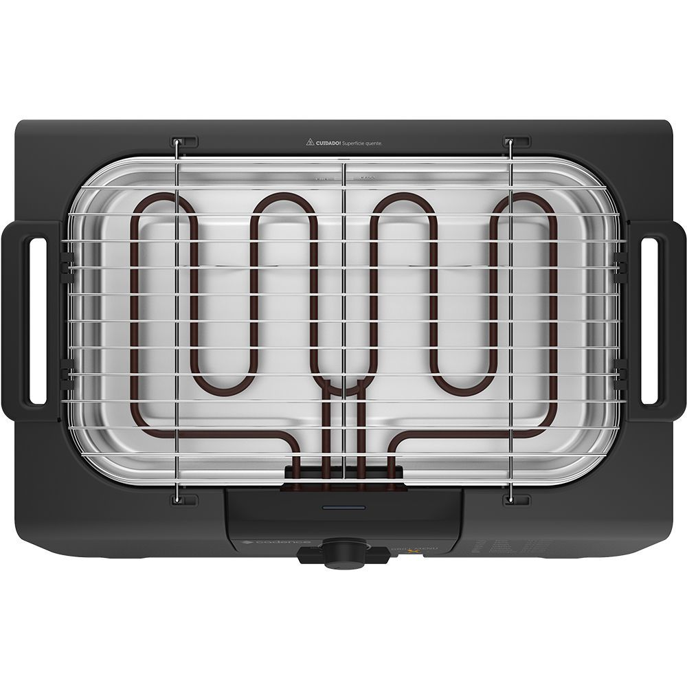 Churrasqueira Elétrica Cadence Grill Menu - Grl810 - 127V
