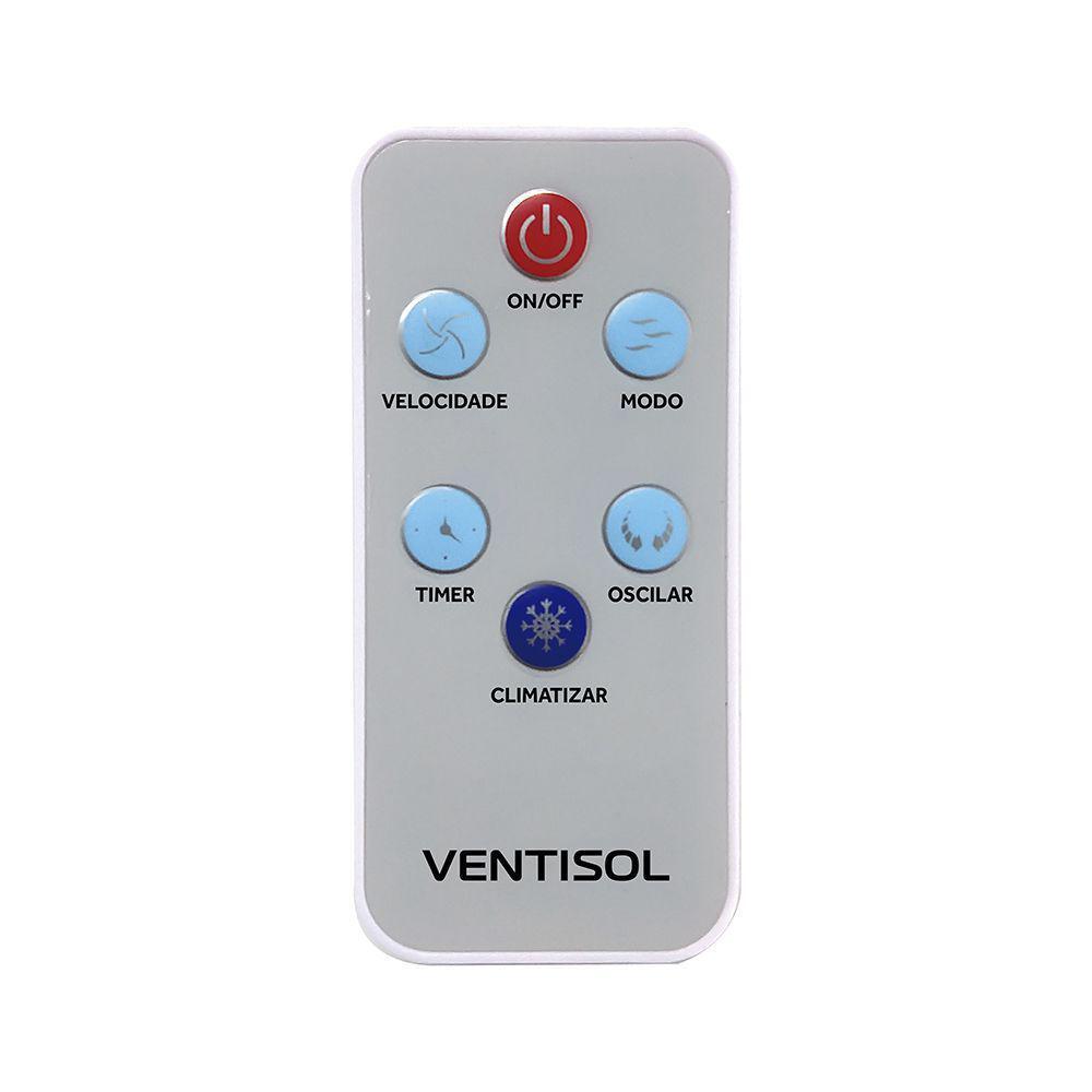Climatizador de Ar Ventisol Nobille 10 Litros 65w Residencial