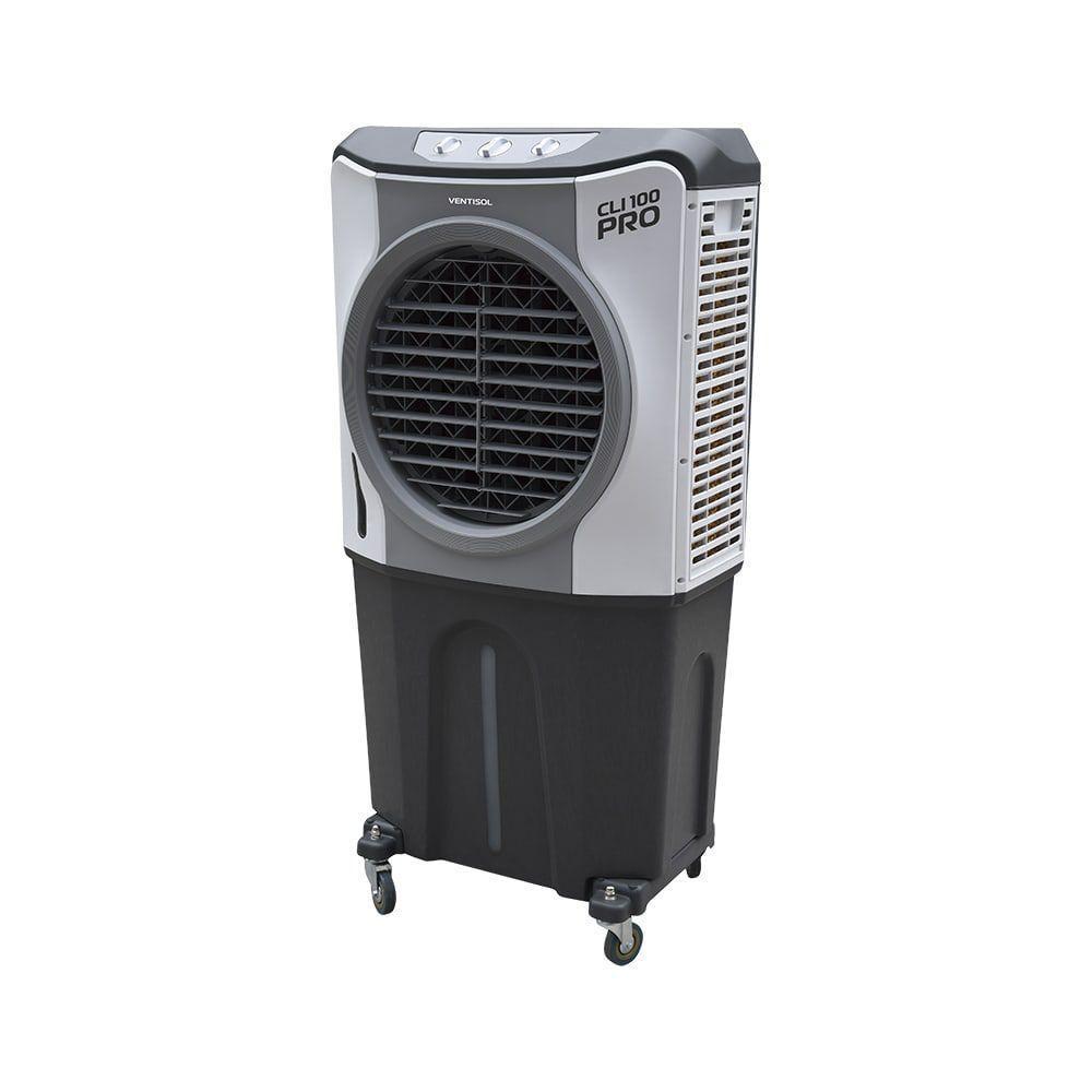 Climatizador Evaporativo Industrial – 100 litros - Ventisol   127V   CLI