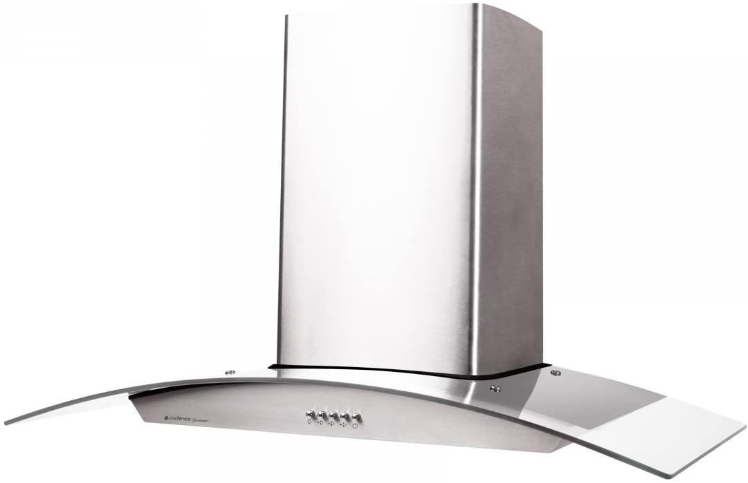 Coifa Cadence Gourmet CFA391 de Parede 90cm Depurador Exaustor - Inox