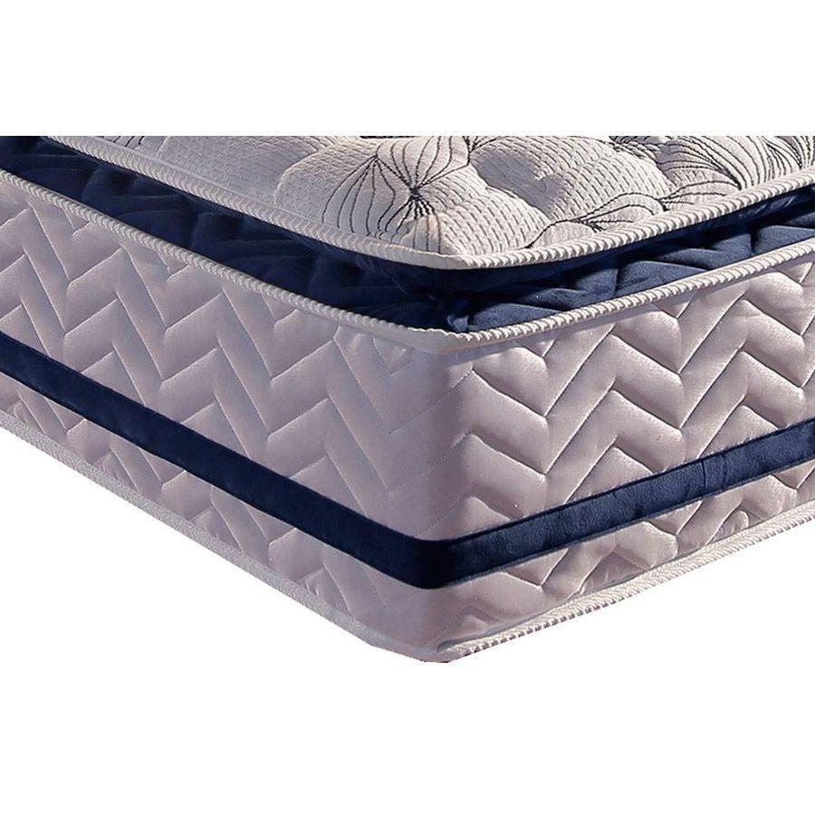 Colchão Paropas Blue Pillow Casal 138 + Box