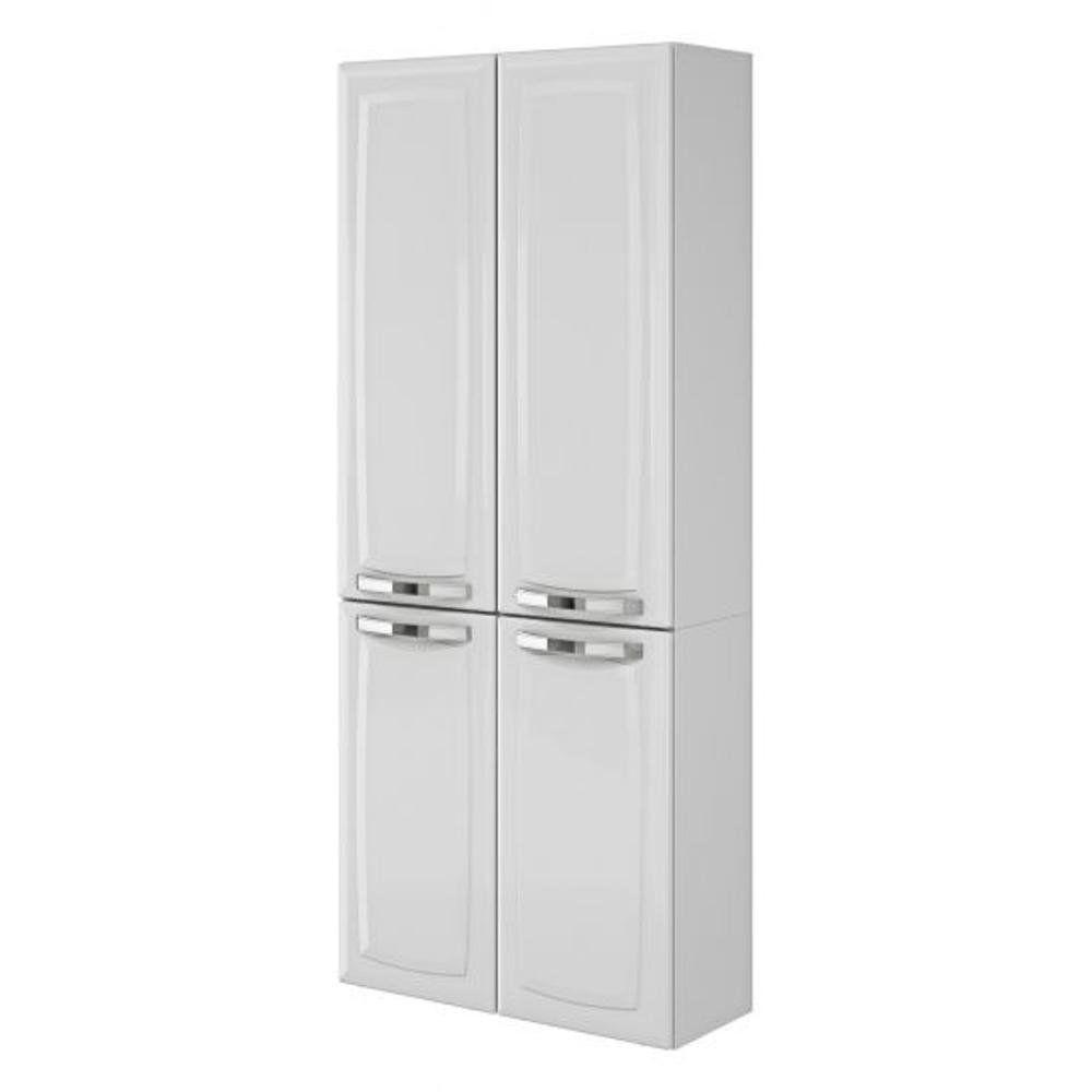 Cozinha Compacta Itatiaia Rose 7 Portas Aço Branco