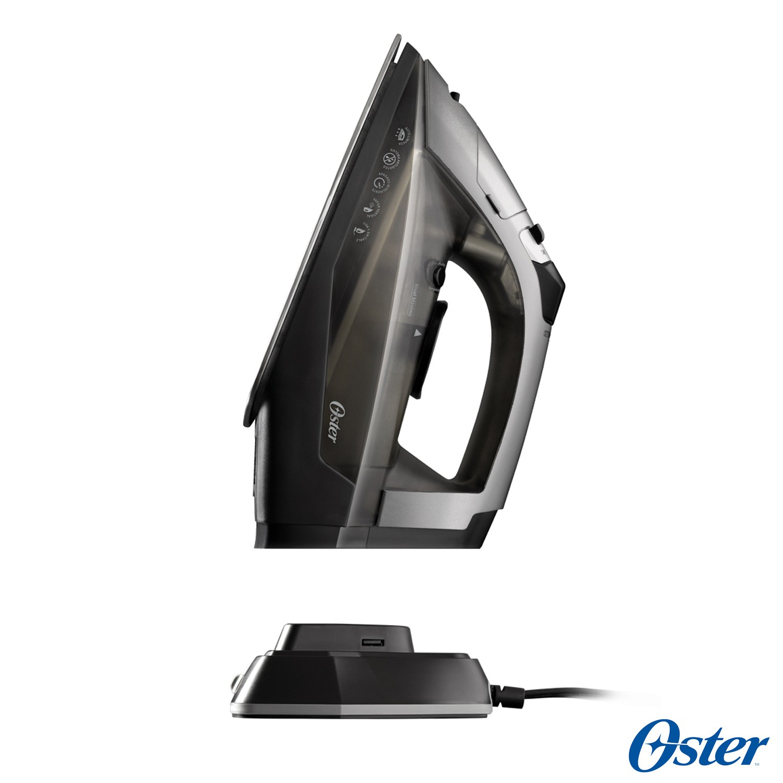 Ferro à Vapor Oster GCSTCC3000 sem Fio e Desligamento Automático  - Cinza