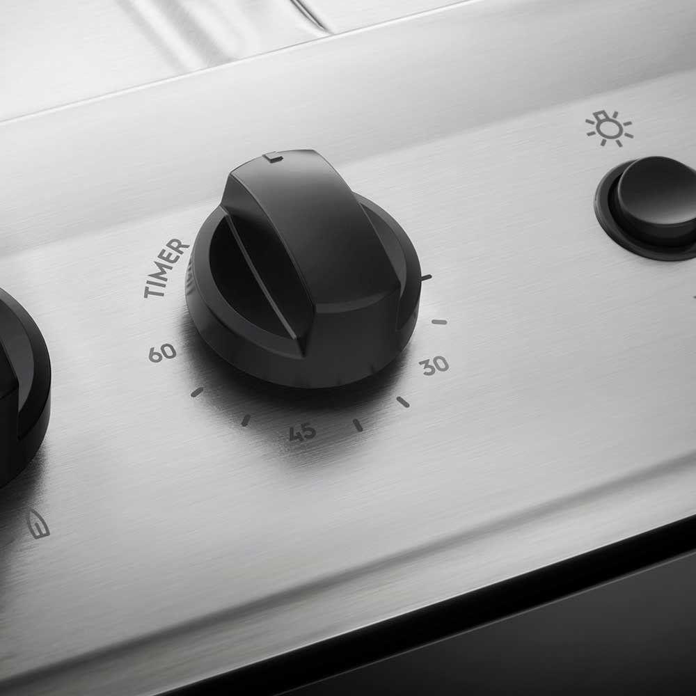 Fogão De Piso Branco E Queimador Tripla-Chama Electrolux (76Ubq)