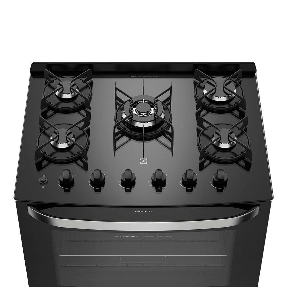 Fogao Electrolux 5B 76Gs Biv Prata