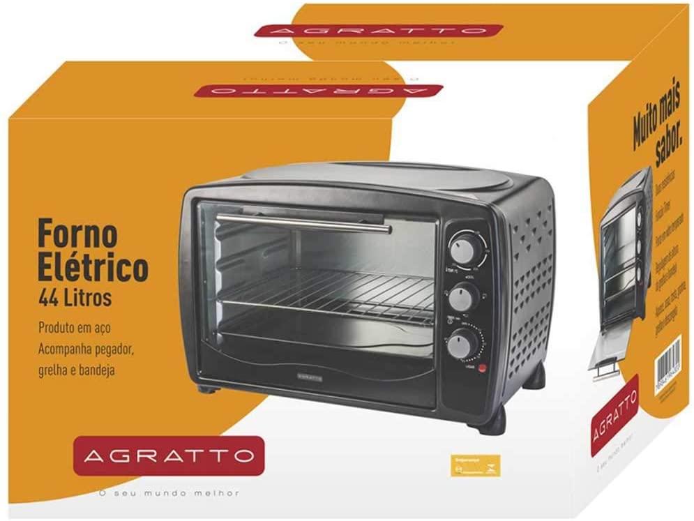 Forno Eletrico FE44-01 44L 127V Agratto 127V