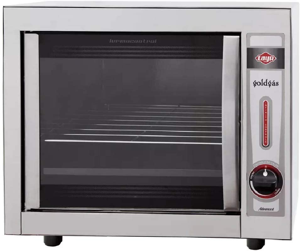 Forno Industrial A Gás Layr Gold Advanced Easy Clean 46 Litros Inox