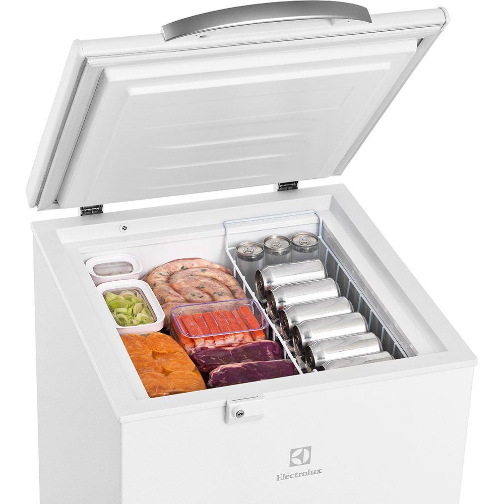 Freezer Horizontal Electrolux H162 Branco 149L - 110V