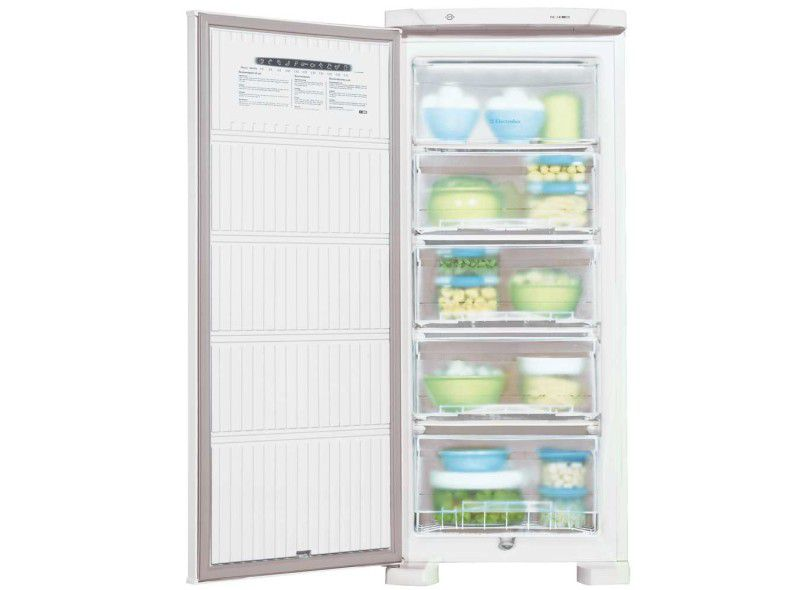 Freezer Vertical Electrolux Fe18 Cycle Defrost Branco 110V