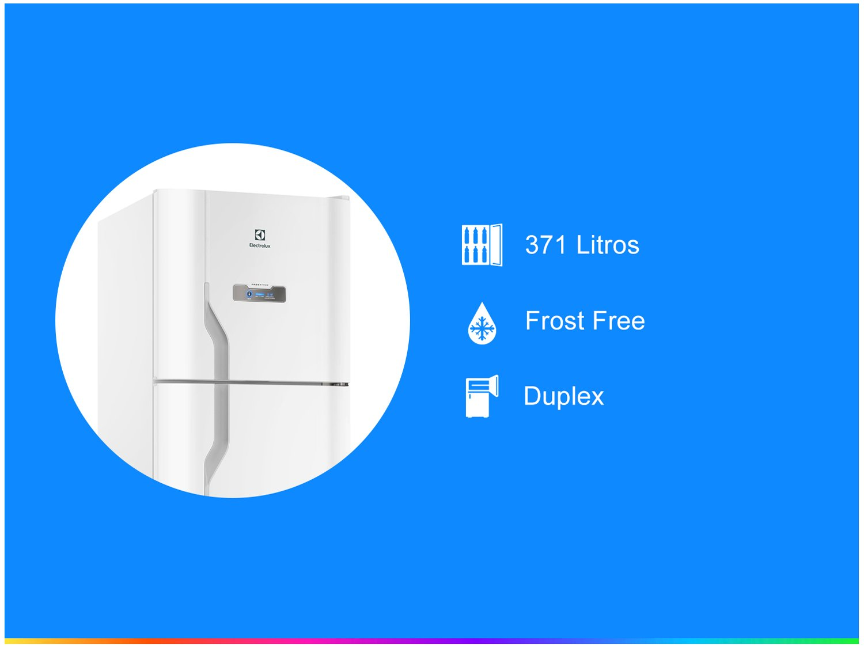 Geladeira Frost Free 371L Branca (Dfn41) - 110V