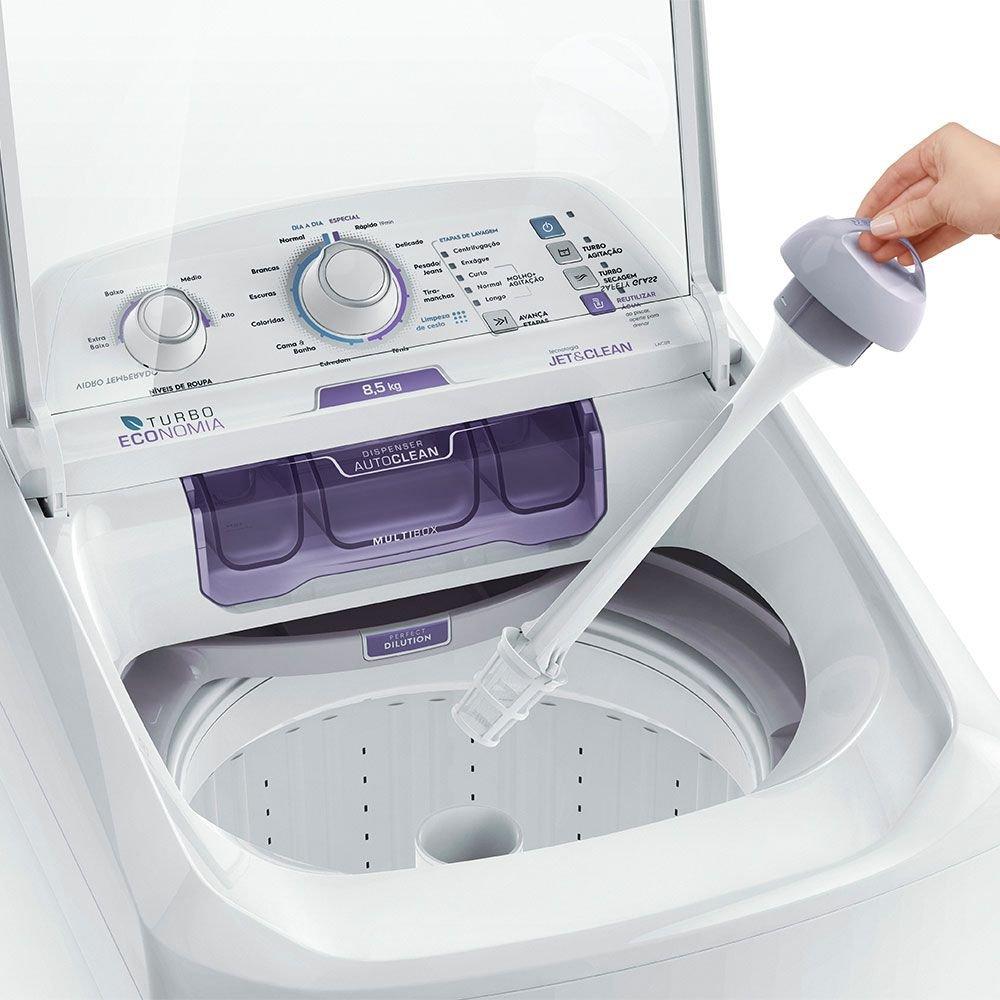 Lavadora de Roupas Electrolux 8,5Kg LAC09 - Branca 110V