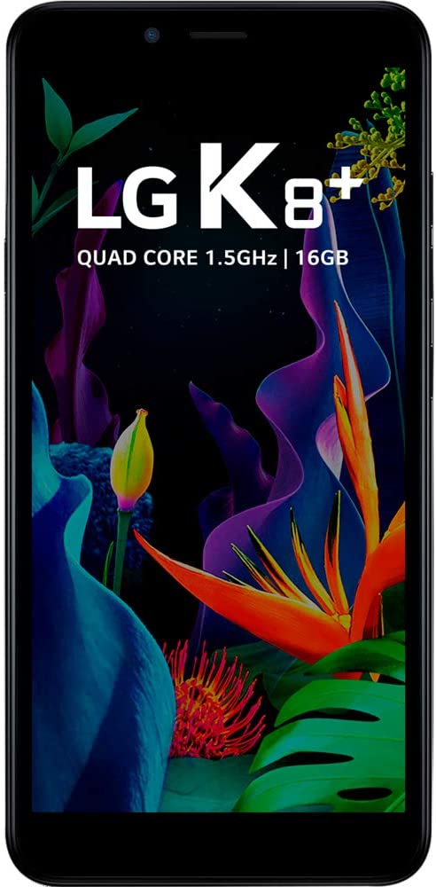"Smartphone LG K8+ 16GB Dual Chip Android 7.0 Pie 5.4"" 4G Câmera 8MP - Preto"