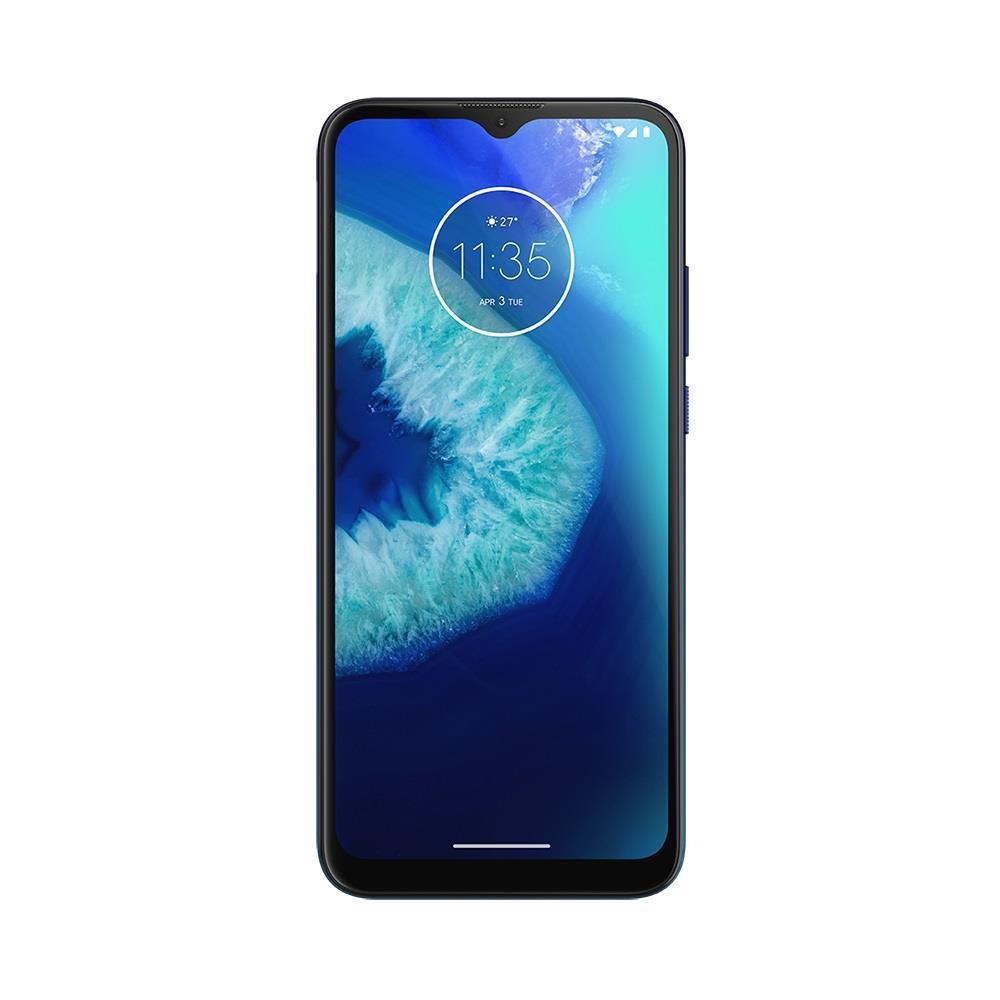 """Smartphone Motorola Moto G8 Power Lite Azul Navy 64GB, 4 GB RAM, Tela de 6.5"""" HD+, Câmera Traseira Tripla, Android 9 e Processador Octa-Core"""