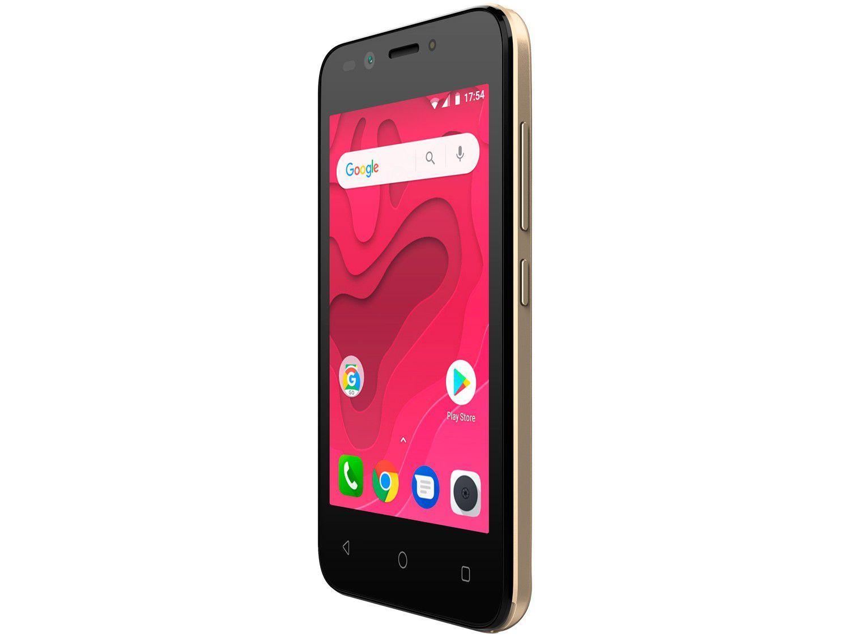 Smartphone Positivo Twist Mini 8GB  3G - Quad Core 512MB Câm. 5MP + Câm. Selfie 5MP