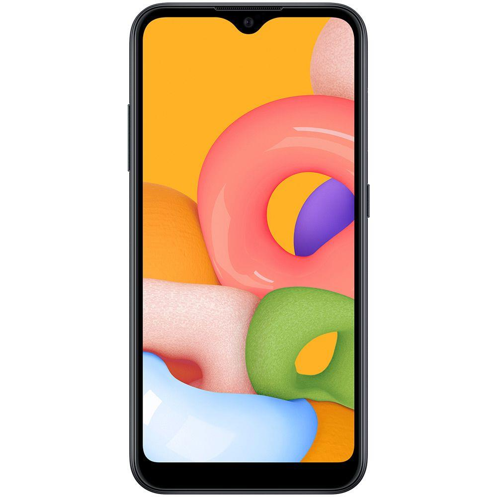 "Smartphone Samsung Galaxy A01, 4G Android 10 32GB Octa-Core Câmera 13MP Tela 5.7"""