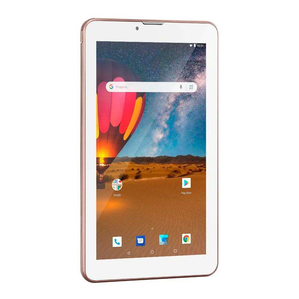 Tablet M7 3g Plus 16gb Rosa Multilaser - Nb305