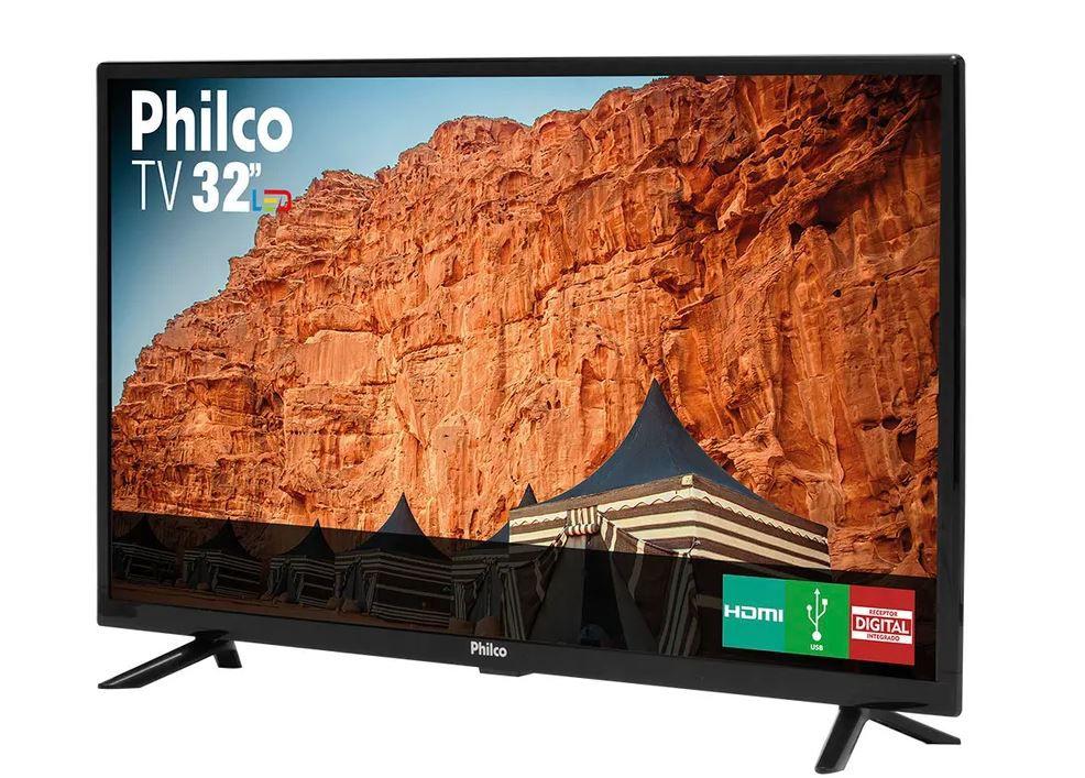 """Tv Philco Led 32"""" Hd Ptv32G50D - Bivolt"""