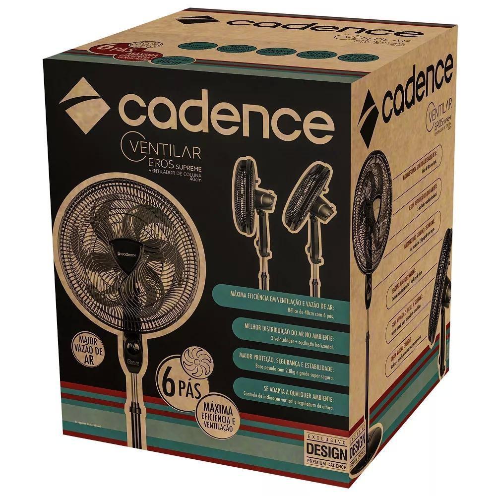 Ventilador De Coluna Cadence Ventilar Supreme 40Cm - Vtr865