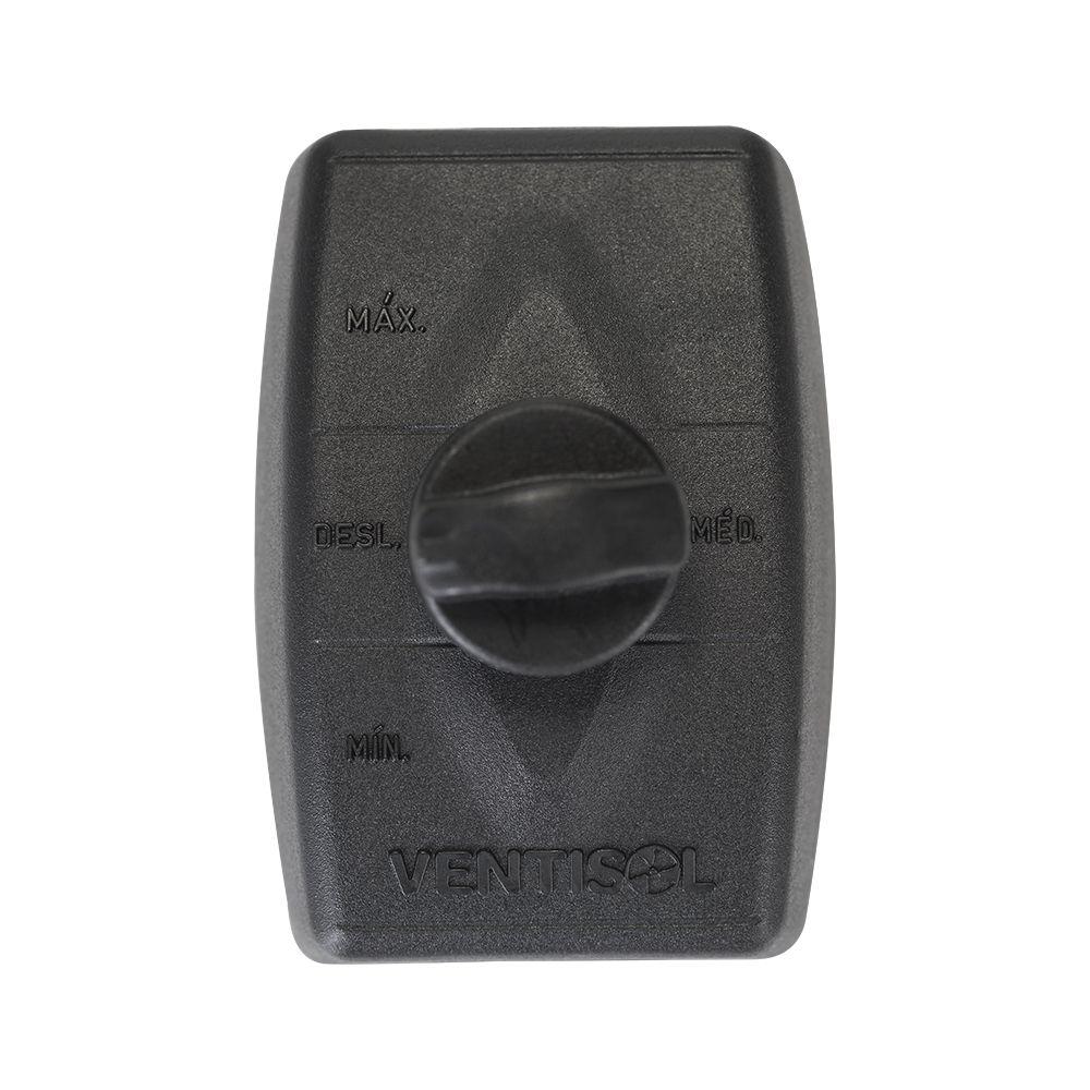 Ventilador De Parede Ventisol New 60Cm Preto - 127V