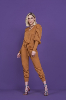 CALCA JOGGER LUREX