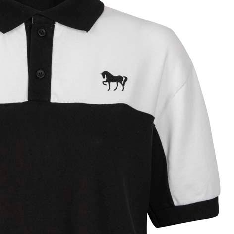 Camisa pólo bordada