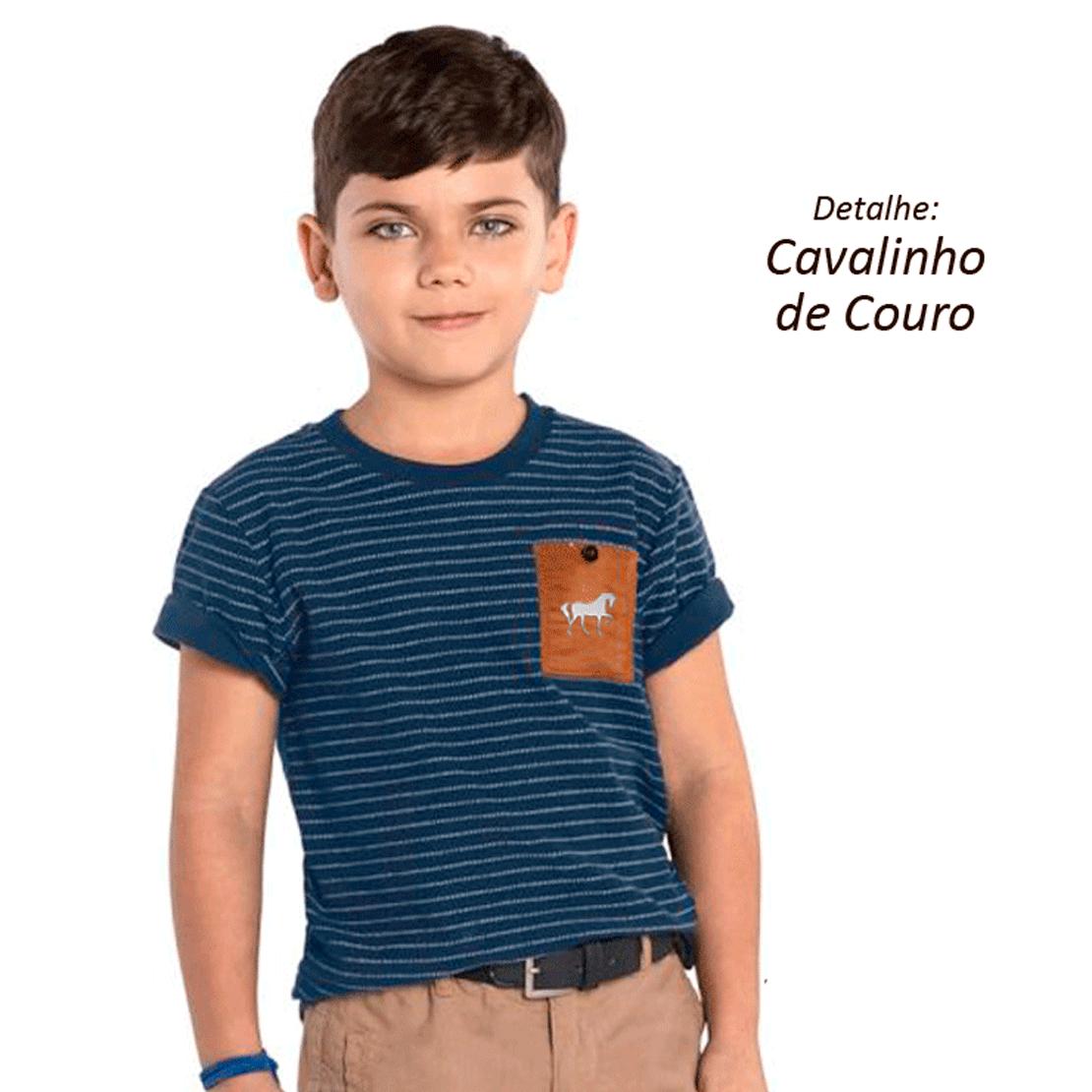 Camiseta kids cavalinhos