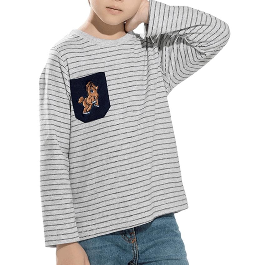 Camiseta kids Toscaninho manga longa