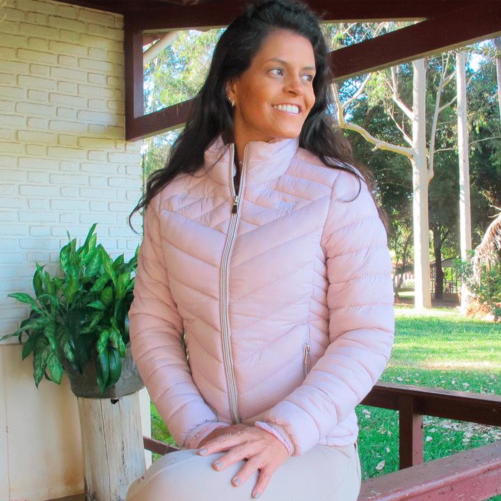Jaqueta Bordada com pêlo