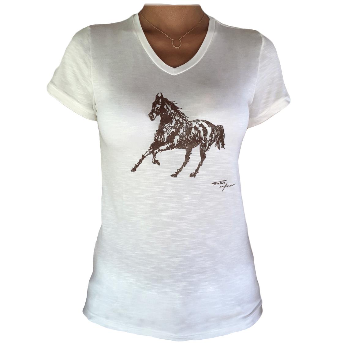 T-shirt Basic Cavalo Gustavo Maciel