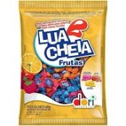 BALA LUA CHEIA FRUTAS DORI 600GR