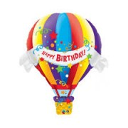 "BALAO METALIZADO BALAO HAPPY BIRTHDAY 42"" QUALATEX"