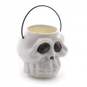 Cabeca Esqueleto G Balde Halloween Brasilflex