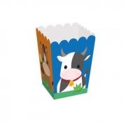 Caixa de Pipoca Fazendinha 2 PP 5,5x5,5x9 Cromus c/10