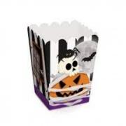 Caixa de Pipoca Noite do Terror Halloween 5,5x5,5x9 Cromus c/10